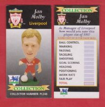 Liverpool Jan Molby Denmark PL246